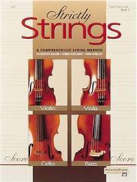 Strictly Strings, Bk 1: Conductor's Score
