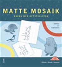 Matte Mosaik Räkna med uppställning