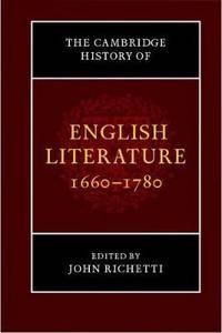 The New Cambridge History of English Literature