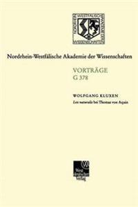 Lex Naturalis Bei Thomas Von Aquin