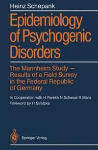 Epidemiology of Psychogenic Disorders