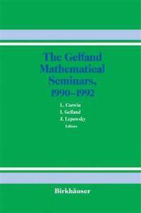 The Gelfand Mathematical Seminars, 1990-1992