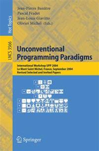 Unconventional Programming Paradigms