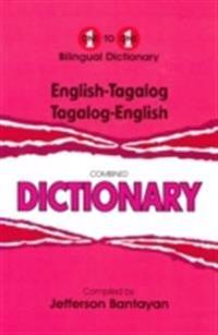 English-TagalogTagalog-English One-to-One Dictionary