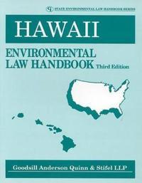 Hawaii Environmental Law Handbook