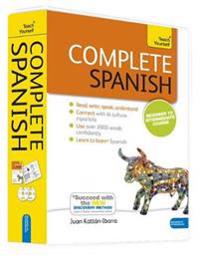 Complete Spanish, Beginner to Intermediate Course [With Paperback Book]