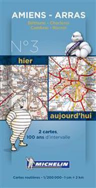Amiens Valenciennes Centenary Map