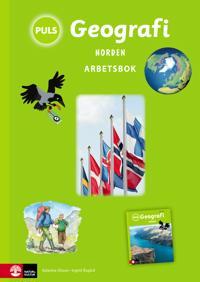 PULS Geografi 4-6 Norden Arbetsbok, tredje upplagan