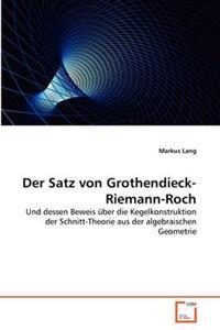 Der Satz Von Grothendieck-Riemann-Roch