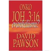 Onko Joh. 3:16 evankeliumi?