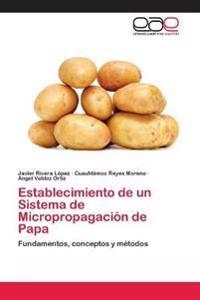 Establecimiento de Un Sistema de Micropropagacion de Papa