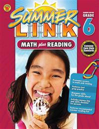 Summer Link: Math Plus Reading, Summer Before Grade 6