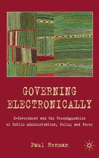 Governing Electronically