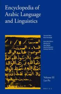 Encyclopedia of Arabic Language and Linguistics, Volume 3