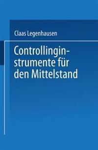 Controllinginstrumente F r Den Mittelstand