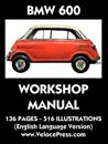 BMW 600 Limousine Factory Workshop Manual