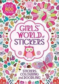 Girls' World Of Stickers