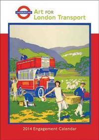 Art for London Transport 2014 Calendar
