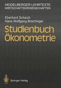 Studienbuch  konometrie