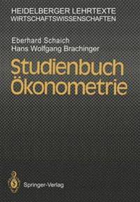 Studienbuch  konometrie