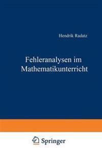 Fehleranalysen Im Mathematikunterricht