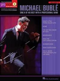 Michael Buble: Sing 8 of His Best with a Professional Band [With CD]