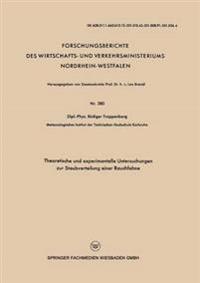 Theoretische Und Experimentelle Untersuchungen Zur Staubverteilung Einer Rauchfahne