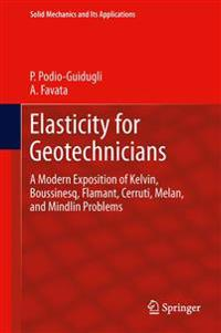 Elasticity for Geotechnicians