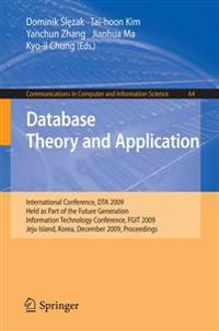 Database Theory and Application