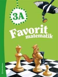 Favorit matematik 3A - Elevpaket (Bok + digital produkt)
