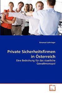Private Sicherheitsfirmen in Osterreich