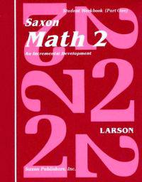 Saxon Math 2 Set: An Incremental Development [With Charts]