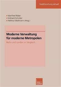 Moderne Verwaltung Fur Moderne Metropolen