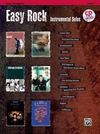 Easy Rock Instrumental Solos, Level 1: Tenor Sax, Book & CD [With CD (Audio)]