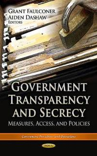 Government Transparency and Secrecy