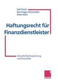 Haftungsrecht Fur Finanzdienstleister