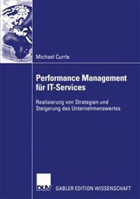 Performance Management Fur It-Services