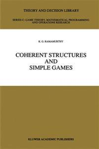 Coherent Structures and Simple Games