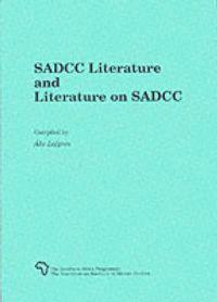 Sadcc Literature and Literature on Sadcc