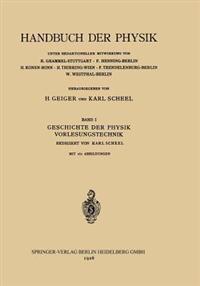 Geschichte Der Physik Vorlesungstechnik