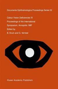 Colour Vision Deficiencies IX