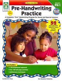 """Pre-Handwriting Practice: A Complete """"First"""" Handwriting Program for Young and Special Learners"""