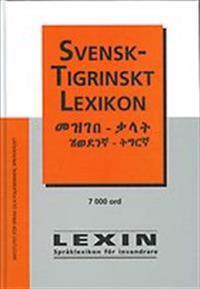 Svensk-tigrinskt lexikon