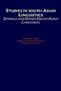 Studies in South Asian Linguistics