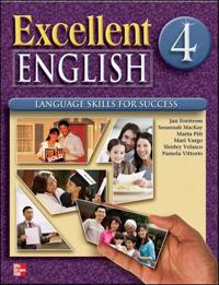 Excellent English Level 4 Student Book With Audio Highlights + Workbook + Audio Cd