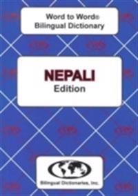 English-NepaliNepali-English Word-to-Word Dictionary