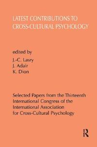 Latest Contributions to Cross-Cultural Psychology