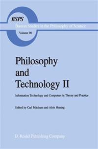 Philosophy and Technology II