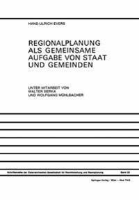 Regionalplanung Als Gemeinsame Aufgabe Von Staat Und Gemeinden