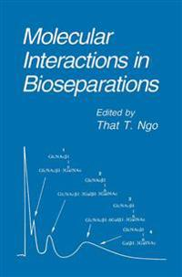 Molecular Interactions in Bioseparations